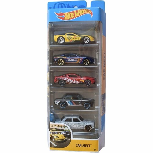 Hot Wheels 5 Pack, Car Meet Perspective: front