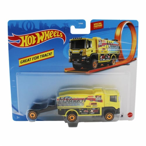 Hot Wheels Track Trucks, Scania Rally Truck Perspective: front