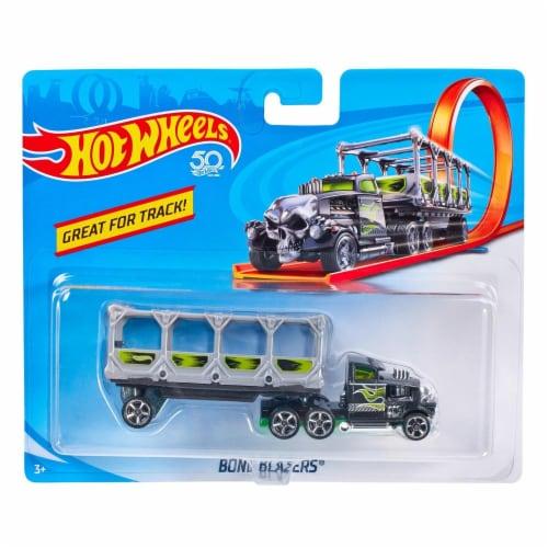 Hot Wheels Track Trucks, Bone Blazers Perspective: front