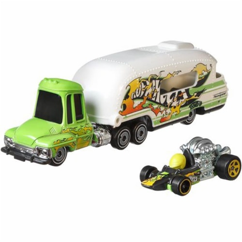 Hot Wheels Super Rig, Tooned Up Perspective: front