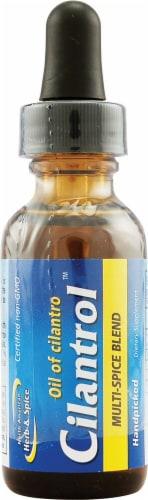 North American Herb & Spice Cilantrol Oil of Cilantro Multi-Spice Blend Perspective: front