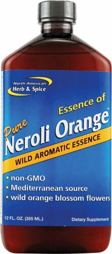 North American Herb & Spice Pure Neroli Orange Wild Aromatic Essence Perspective: front