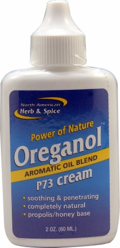 North American Herb & Spice  Oreganol™ P73 Cream Aromatic Oil Blend Perspective: front