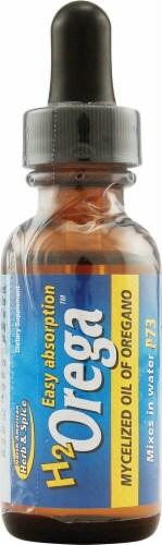 North American Herb & Spice  H2 Orega Mycelized Oil of Oregano Perspective: front