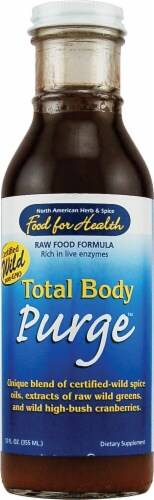 North American Herb & Spice Total Body Purge Perspective: front