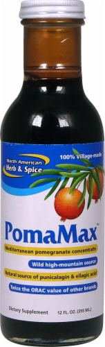 North American Herb & Spice  Pom-O-Power Pomegranate Concentrate Perspective: front