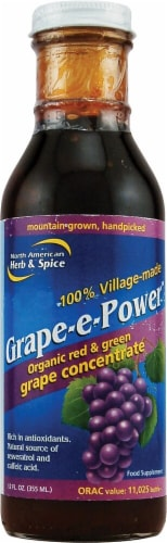 North American Herb & Spice  Grape-E-Power™ Grape Concentrate Perspective: front