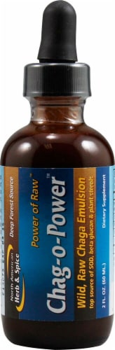 North American Herb & Spice  Chag-o-Power™ Liquid Supplement Perspective: front