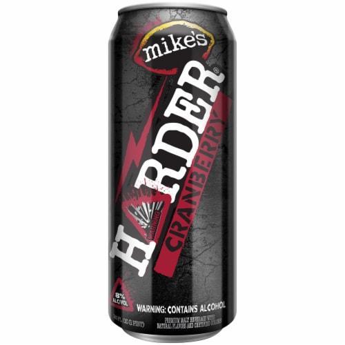 Mike's Harder Cranberry Malt Beverage Perspective: front