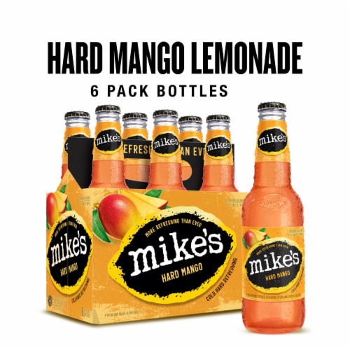 Mike's Hard Mango Lemonade Perspective: front