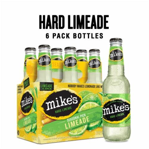 Mike's Hard Seasonal Tangerine Lemonade Perspective: front