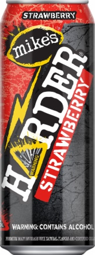 Mike's Harder Strawberry Lemonade Premium Malt Beverage Perspective: front