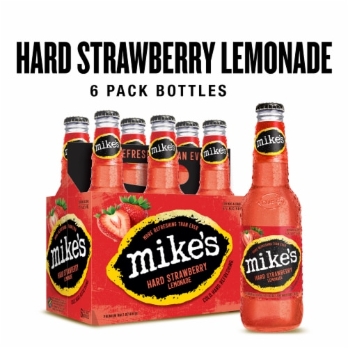 Mike's Hard Strawberry Lemonade Perspective: front