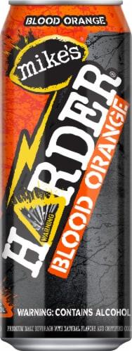 Mike's Harder Blood Orange Premium Malt Beverage Perspective: front