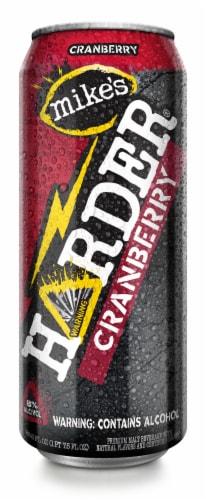 Mike's Harder Cranberry Premium Malt Beverage Perspective: front