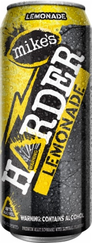 Mike's Harder Lemonade Premium Malt Beverage Perspective: front