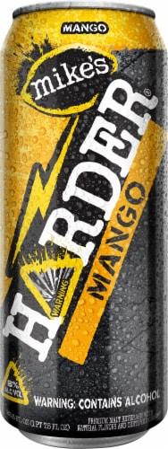 Mike's Harder Mango Premium Malt Beverage Perspective: front