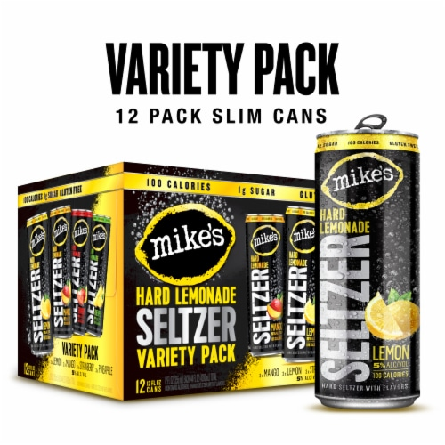 Mike's Hard Lemonade Seltzer Variety Pack Perspective: front