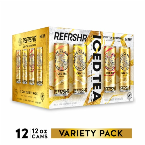 White Claw Tea Variety Pack Perspective: front