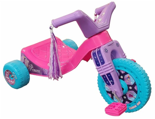 Big Wheel Junior 50th Anniversary 9 Inch Ride-On Trike | Pink Perspective: front