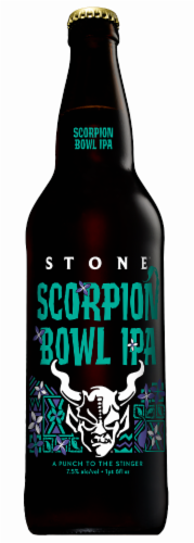 Stone Scorpion Bowl IPA Perspective: front