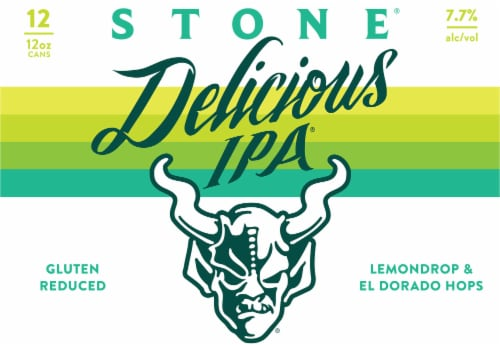 Stone Brewing Co. Delicious IPA Perspective: front