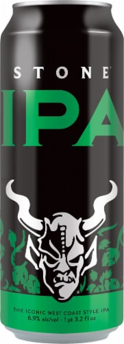 Stone Brewing Co IPA Beer Perspective: front