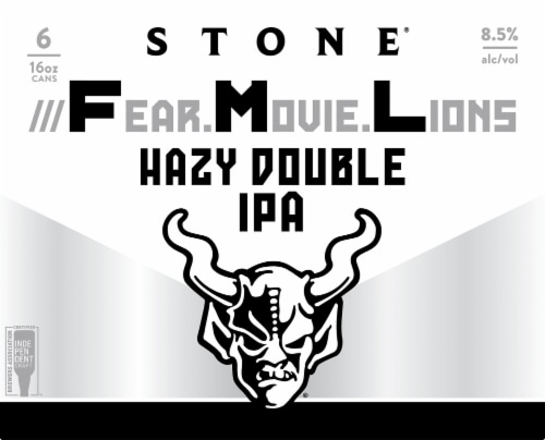 Stone Brewing Co. Fear Movie Lions IPA Perspective: front
