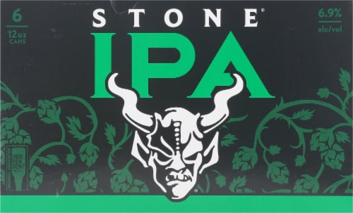 Stone Brewing Co. IPA Perspective: front