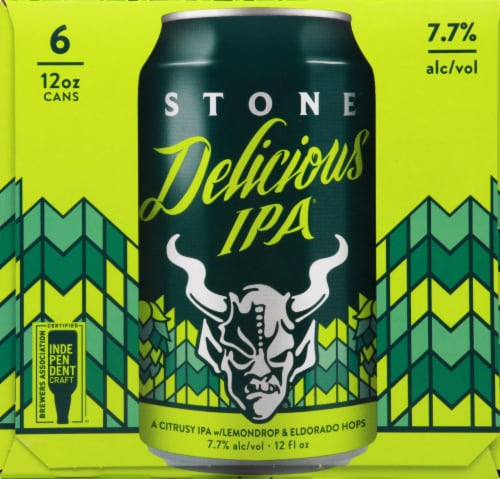 Stone Delicious IPA Perspective: front