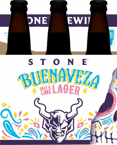 Stone Brewing Co. Buenaveza Salt & Lime Lager Perspective: front