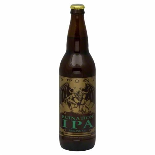 Stone Ruination IPA Perspective: front