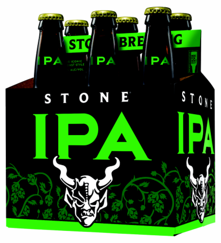 Stone The Iconic West Coast Style IPA Perspective: front