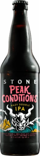 Stone Brewing Co. Imperial Star Fawker Hazy IPA Seasonal Craft Beer Perspective: front