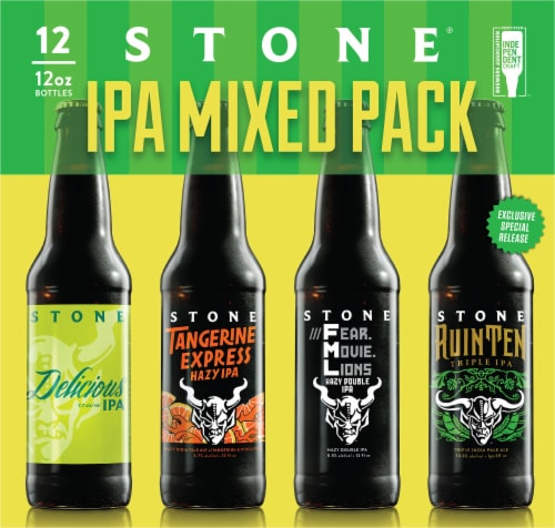 Stone IPA Mixed Pack Perspective: front