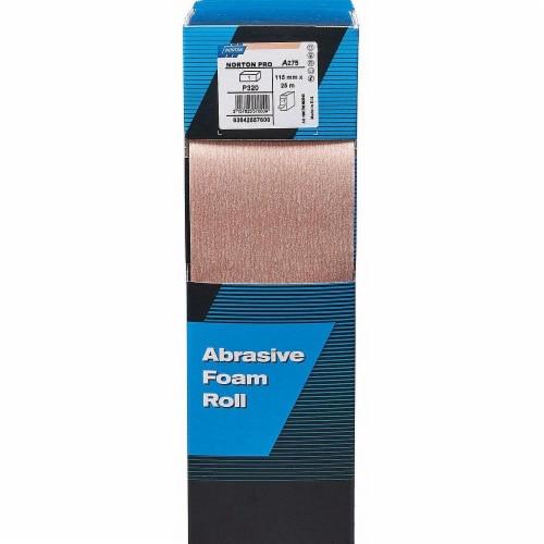 Norton Sanding Foam Pad Roll, Aluminum Oxide, 178 Sheets per Roll, 1 EA Perspective: front