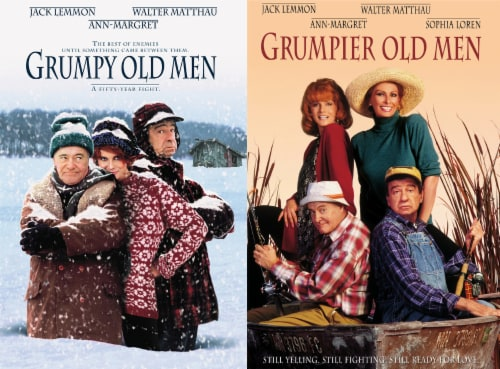 Grumpy Old Men 2-Movie Collection (DVD) Perspective: front
