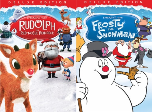 Holiday 2 Pack: Rudolph and Frosty the Snowman (DVD) Perspective: front