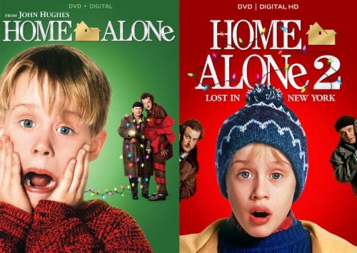 Home Alone Holiday 2-Movie Collection (DVD/Digital Copy) Perspective: front