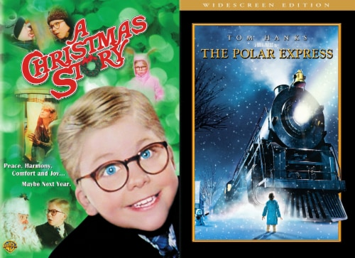 Holiday 2 Pack: A Christmas Story and Polar Express (DVD) Perspective: front