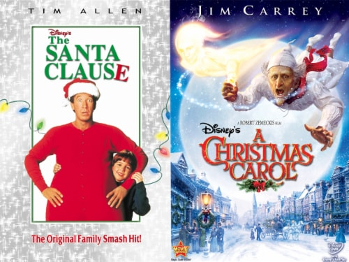 Holiday 2 Pack: Santa Clause and Christmas Carol (DVD) Perspective: front