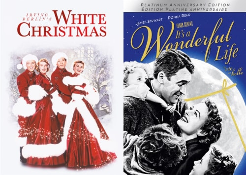 Holiday 2 Pack: White Christmas and It's a Wonderful Life(DVD) Perspective: front