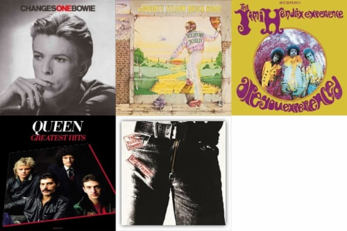 Various Artists: Glam Rock Bundle (Vinyl) Perspective: front