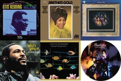 Various Artists: Soul and R&B Bundle (Vinyl) Perspective: front
