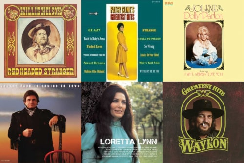 Various Artists: Classic Country 6 LP Bundle - Vinyl Perspective: front