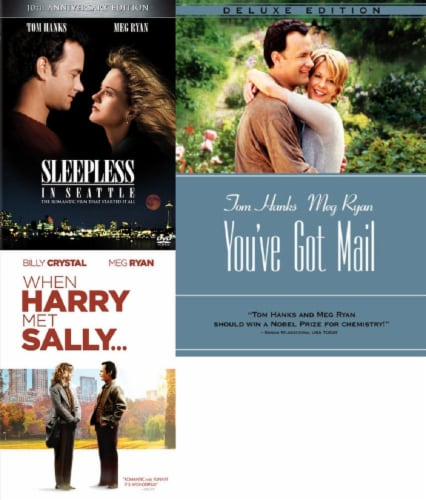 Sleepless in Seattle / When Harry Met Sally / You've Got Mail DVD Bundle Perspective: front