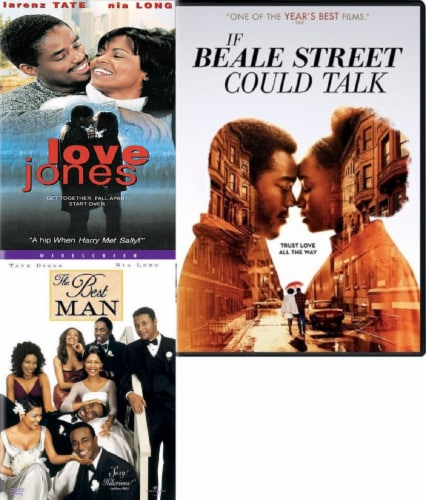 Love Jones / Best Man / If Beale Street Could Talk DVD Bundle Perspective: front