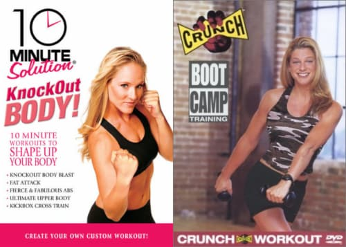 Intense Workout Bundle (DVD) Perspective: front