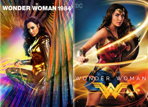 Wonder Woman and Wonder Woman: 1984 (DVD) Available for Preorder to Ship 3/30 Perspective: front