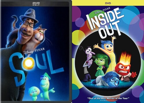 Soul/ Inside Out Kids DuoPack (DVD) Perspective: front